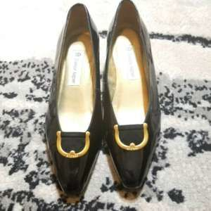ETIENNE AIGNER | Vintage Leather Pumps Heels 6.5
